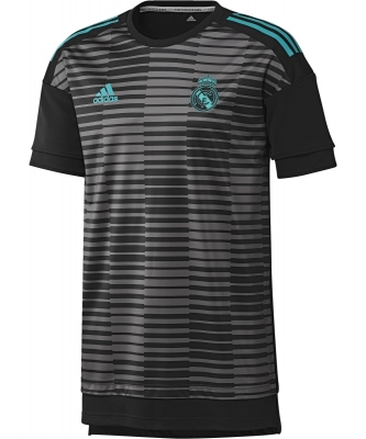 REAL MADRID PREMATCH GREY SHIRT 2017-18
