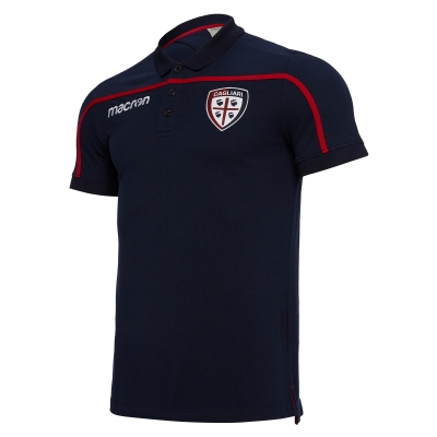 CAGLIARI TRAVEL NAVY POLO 2018-19