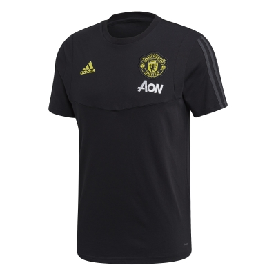 MANCHESTER UNITED BLACK T-SHIRT 2019-20