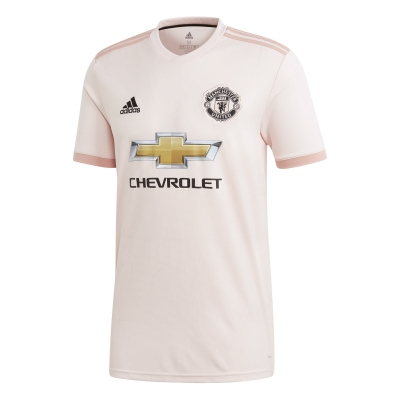 MANCHESTER UNITED MAGLIA AWAY ROSA 2018-19