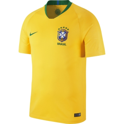 BRASIL JUNIOR HOME SHIRT 2018-19