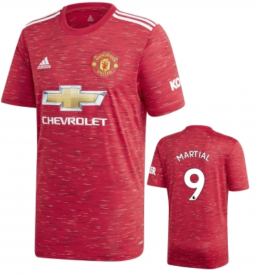 MANCHESTER UNITED MARTIAL HOME SHIRT 2020-21