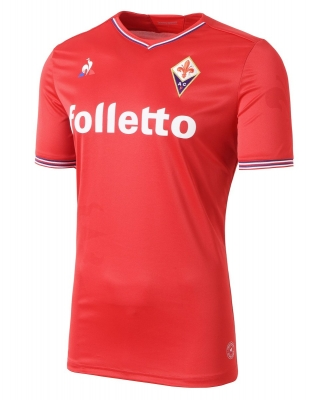 FIORENTINA AWAY RED SHIRT 2017-18