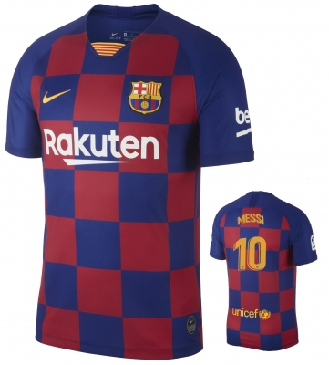 BARCELONA 10-MESSI HOME STADIUM SHIRT 2019-20