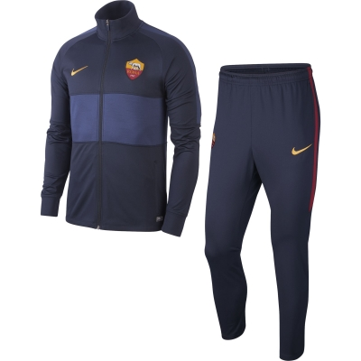 AS ROMA PRESENTATION BLUE TRACKSUIT 2019-20