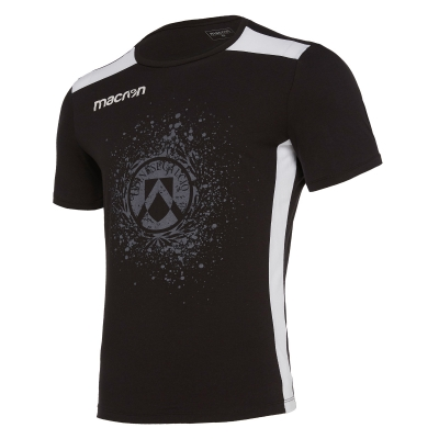 UDINESE BLACK T-SHIRT 2019-20