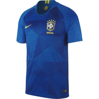 BRASILE MAGLIA BLU TRASFERTA BAMBINO 2018-19