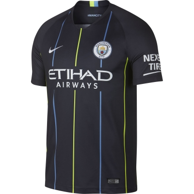 MANCHESTER CITY AWAY SHIRT 2018-19