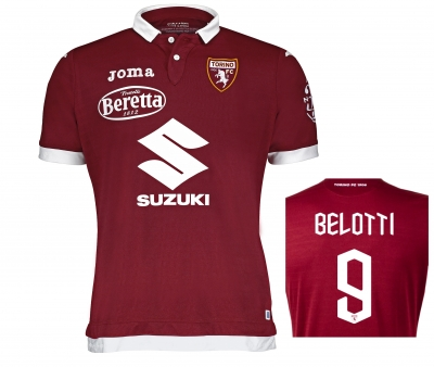 FC TORINO BELOTTI AUTHENTIC MATCH HOME SHIRT 2019-20