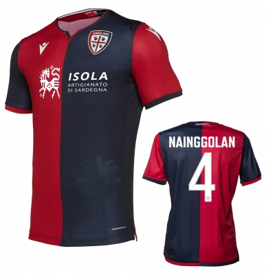 CAGLIARI NAINGGOLAN AUTHENTIC HOME SHIRT 2019-20