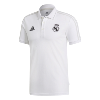 REAL MADRID WHITE POLO 2018-19