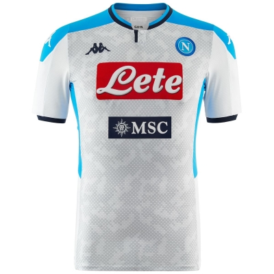 SSC NAPOLI AUTHENTIC MATCH WHITE SHIRT 2019-20