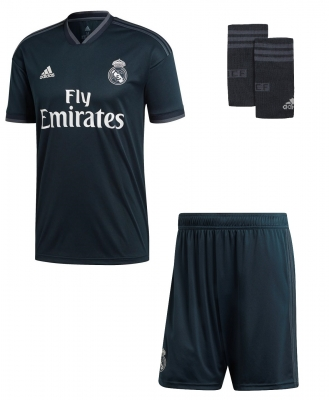 REAL MADRID COMPLETO BAMBINO AWAY 2018-19