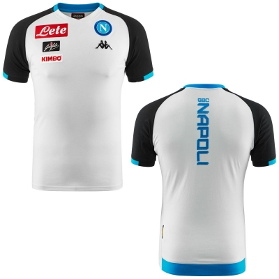 SSC NAPOLI T-SHIRT PLAYER BIANCA 2018-19