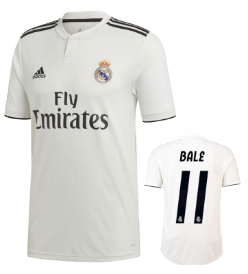 REAL MADRID BALE HOME SHIRT 2018-19
