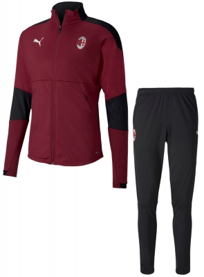 AC MILAN POLY RED TRACKSUIT 2020-21