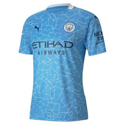 MANCHESTER CITY JUNIOR HOME SHIRT 2020-21