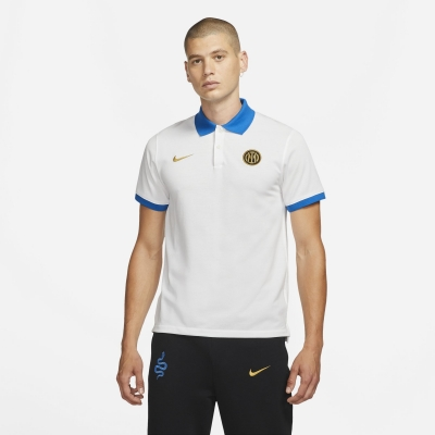 FC INTER MATCH WHITE POLO 2021-22
