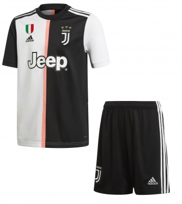 JUVENTUS JUNIOR HOME KIT (7-16 years) 2019-20