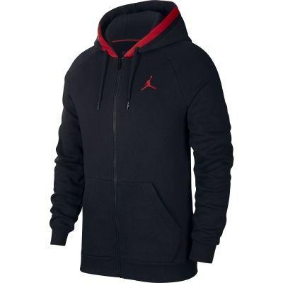 JORDAN HOODY BLACK AIR SWEAT 2019-20