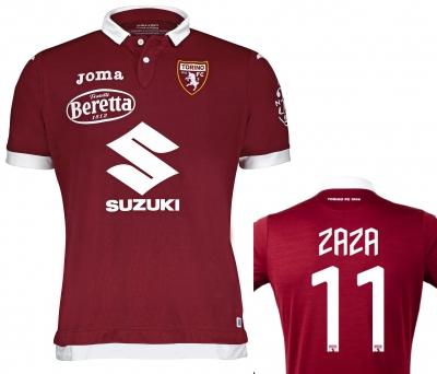FC TORINO ZAZA AUTHENTIC MATCH HOME SHIRT 2019-20