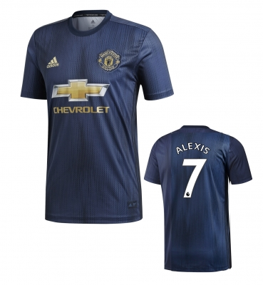 MANCHESTER UNITED MAGLIA ALEXIS 3RD 2018-19