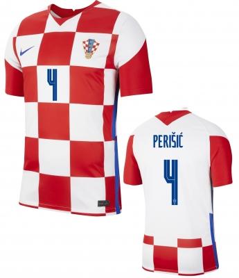 CROATIA PERISIC HOME SHIRT 2020-21