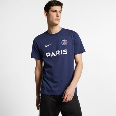 PARIS SAINT GERMAIN T-SHIRT BLU 2019-20