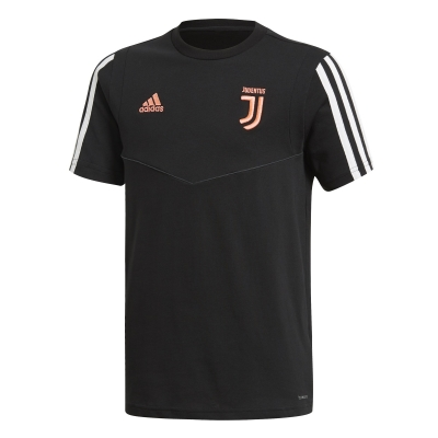 JUVENTUS JUNIOR BLACK T-SHIRT 2019-20