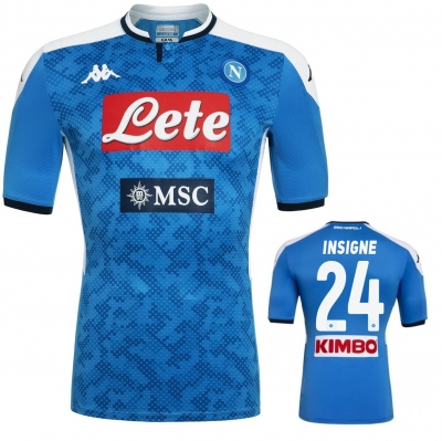 SSC NAPOLI INSIGNE AUTHENTIC MATCH HOME SHIRT 2019-20