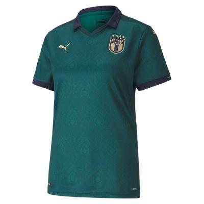 ITALIA FIGC 3RD WOMAN GREEN SHIRT 2019-21