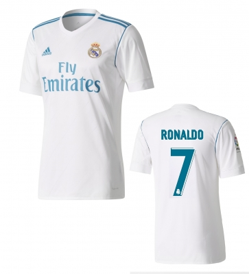 REAL MADRID RONALDO JUNIOR HOME SHIRT 2017-18