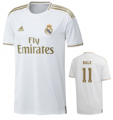 REAL MADRID BALE HOME SHIRT 2019-20