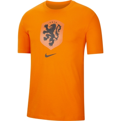 NETHERLANDS LOGO ORANGE T-SHIRT 2020-21