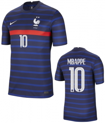 FRANCE MBAPPE HOME SHIRT 2020-21