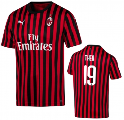 AC MILAN 19=THEO OFFICIAL HOME SHIRT 2019-20
