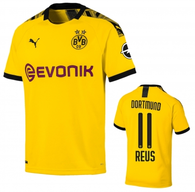 BORUSSIA DORTMUND REUS JUNIOR HOME SHIRT 2019-20