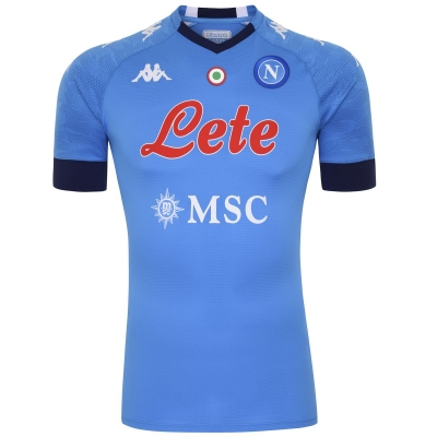 SSC NAPOLI AUTHENTIC MATCH HOME SHIRT 2020-21