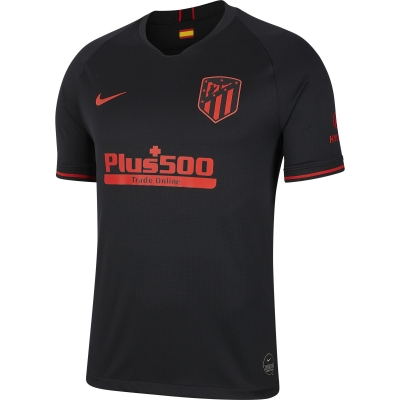 ATLETICO MADRID AWAY BLACK SHIRT 2019-20