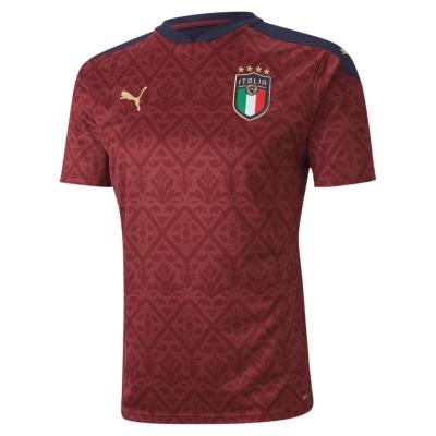 ITALIA FIGC GOALKEEPER JUNIOR RED SHIRT 2020-21