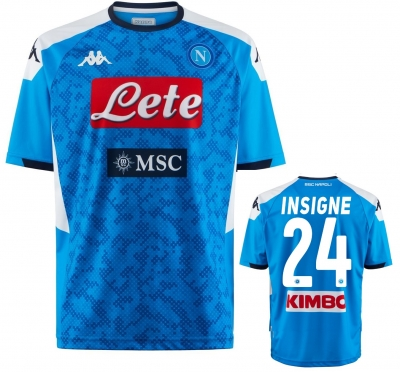 SSC NAPOLI INSIGNE REPLICA HOME SHIRT 2019-20
