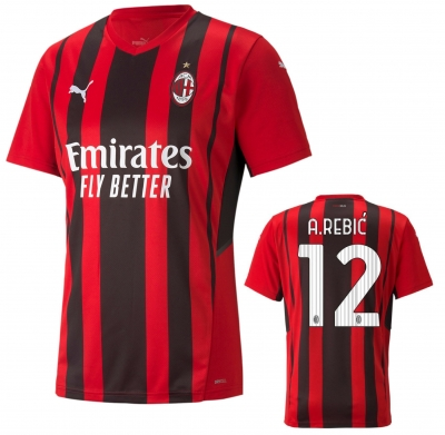 AC MILAN REBIC' HOME SHIRT 2021-22