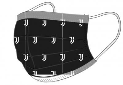JUVENTUS MASCHERINA NERA
