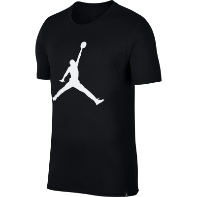 JORDAN LOGO BLACK T-SHIRT