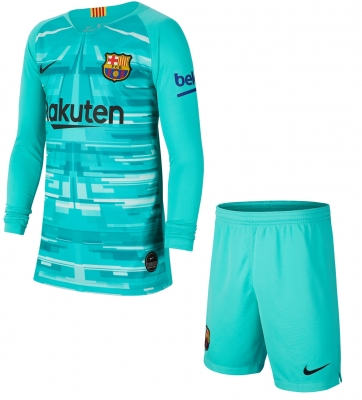 BARCELONA GOALKEEPER JUNIOR KIT 2019-20