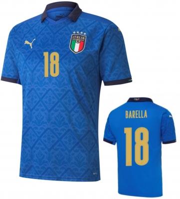 ITALIA FIGC BARELLA HOME SHIRT 2020-21