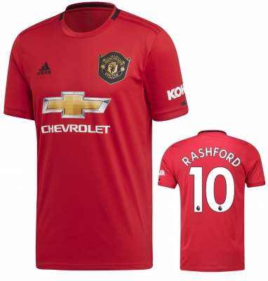 MANCHESTER UNITED RASHFORD HOME SHIRT 2019-20