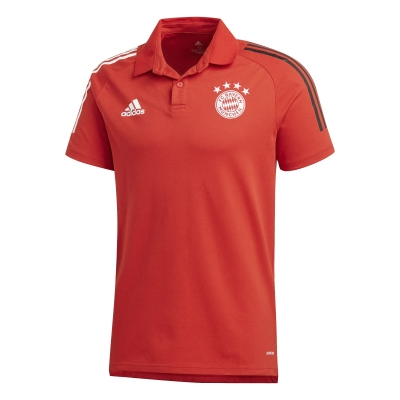 BAYERN MUNICH RED POLO 2020-21