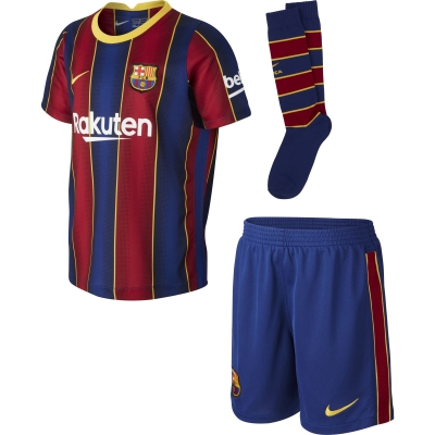 BARCELONA LITTLEBOYS HOME KIT 3-8 years 2020-21