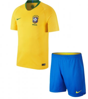 BRASIL JUNIOR HOME KIT 2018-19